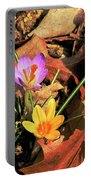 A New Season Blooms Portable Battery Charger