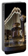 A Night At The Venetian Las Vegas Portable Battery Charger