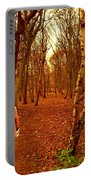 A November Stroll Through Formby Woods Portable Battery Charger