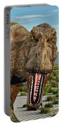 A Pack Of Tyrannosaurus Rex Dinosaurs Portable Battery Charger