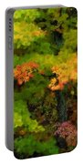 A Painting Adirondack Autumn Portable Battery Charger