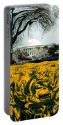 A Painting Jefferson Memorial Dali-style Portable Battery Charger