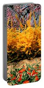 A Painting Springtime 2 Dali-style Portable Battery Charger