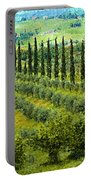 A Painting Tuscan Panoramic 4 Portable Battery Charger