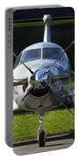 A Pilatus Pc-12 Private Jet Portable Battery Charger
