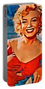 A Portrait Of Marilyn Portable Battery Charger