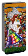 A Quilter's Dream Portable Battery Charger by Aisha Lumumba