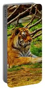 A Real Detroit Tiger Portable Battery Charger