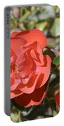A Red Rose Portable Battery Charger