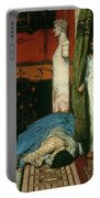 A Roman Emperor   Claudius Portable Battery Charger by Sir Lawrence Alma Tadema