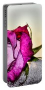 A Rose In Winter Portable Battery Charger