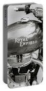 A Royal Enfield Motorbike Portable Battery Charger