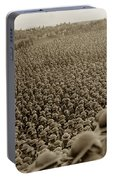 A Sea Of Helmets World War One 1918 Portable Battery Charger