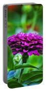 A Sea Of Zinnias 12 Portable Battery Charger