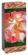 A Single Rose The Dancing Swirl  Portable Battery Charger