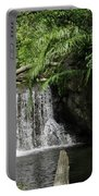 A Small Waterfall Portable Battery Charger