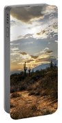 A Sonoran Desert Sunset  Portable Battery Charger