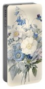 A Spray Of Summer Flowers Portable Battery Charger