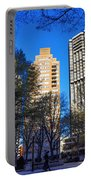 A Spring Day At Rittenhouse Square Portable Battery Charger