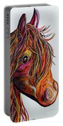 A Stick Horse Named Amber Portable Battery Charger