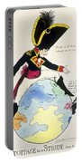 A Stoppage To A Stride Over The Globe, 1803 Litho Portable Battery Charger