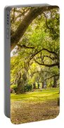 A Stroll In City Park Portable Battery Charger