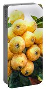 A Tree Full Of Ripe Loquats Portable Battery Charger