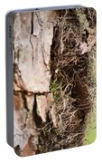 A Treetrunk Abstract Portable Battery Charger