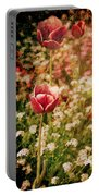 A Tulip's Daydream Portable Battery Charger