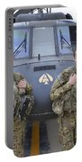 A U.s. Army All Female Crew Portable Battery Charger