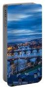 A View At Prague - Czech Republic Portable Battery Charger
