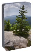 A View From A Mountain In A Vermont State Park Portable Battery Charger