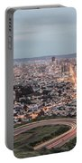 A View Of San Francisco At Twighlight Portable Battery Charger