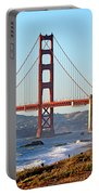 A View Of The Golden Gate Bridge From Baker's Beach  Portable Battery Charger