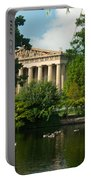 A View Of The Parthenon 17 Portable Battery Charger