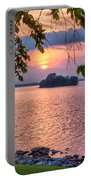 A View To A Sunset Portable Battery Charger