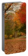 A Walk In Autumn - Holmdel Park Portable Battery Charger