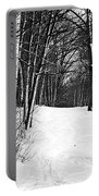 A Walk In Snow Portable Battery Charger