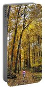 A Walk In The Dune Land Forest Portable Battery Charger