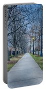 A Walk On A Sidewalk Street Alley Portable Battery Charger