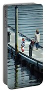 A Walk On The Pier Portable Battery Charger