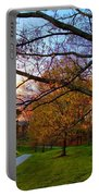 A Walk Through The Canola Fields At Sunset Portable Battery Charger
