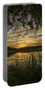 A Window To Sunset Portable Battery Charger