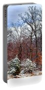 A Winters Scene Portable Battery Charger