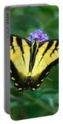 A Yellow Butterfly Portable Battery Charger