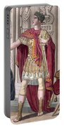 A Young Emperor In His Imperial Armour Portable Battery Charger