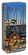 Abandoned Covered Wagon Portable Battery Charger