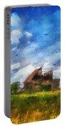 Abandoned Farm 03 Photo Art Portable Battery Charger