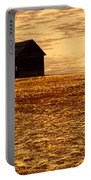 Abandoned Homestead Series Golden Sunset Portable Battery Charger