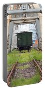 Abandoned Industrial Dock Portable Battery Charger